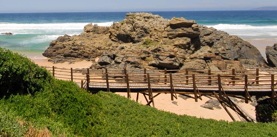 Beachfront Chalet, Keurbooms Beach, Plettenberg Bay, South africa